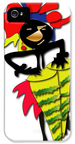 IPhone 5 Case featuring the digital art African Drummer by Marvin Blaine