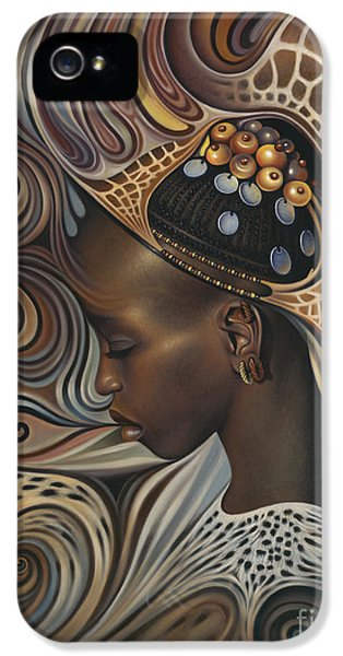 African Spirits II IPhone 5 Case by Ricardo Chavez-Mendez