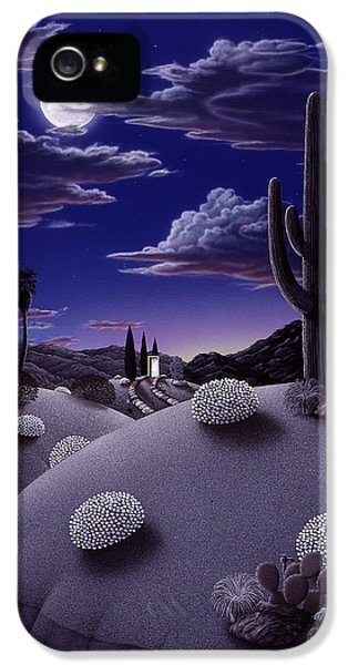 Desert iPhone 5 Case - After The Rain by Snake Jagger