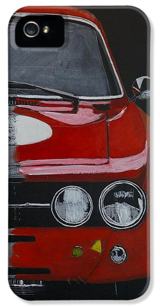 Alfa Romeo Gtv  IPhone 5 Case by Richard Le Page
