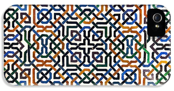Alhambra Tile Detail IPhone 5 Case by Jane Rix