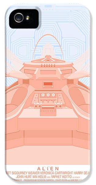 Alien '79 IPhone 5 Case by Peter Cassidy