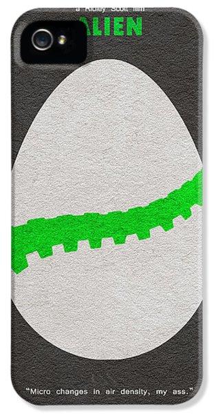 Alien IPhone 5 Case by Ayse Deniz