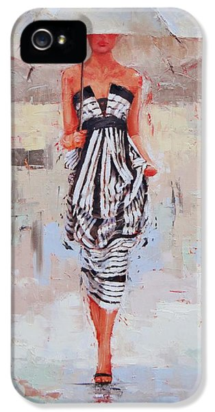 All Dressed Up IPhone 5 Case by Laura Lee Zanghetti