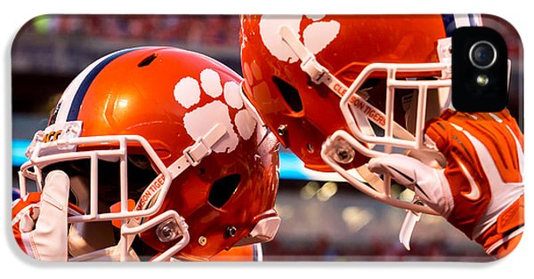 Clemson iPhone 5 Case - All In by Carlton Griffith