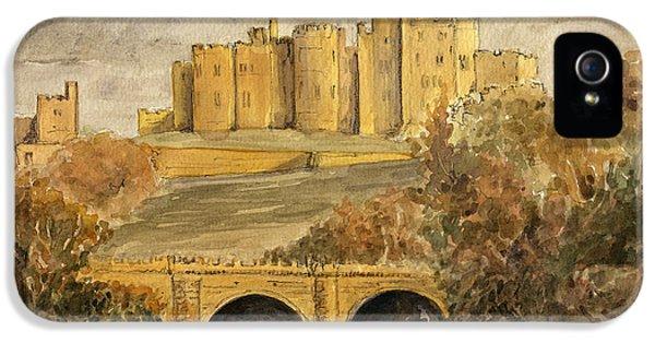 Castle iPhone 5 Case - Alnwick Castle by Juan  Bosco