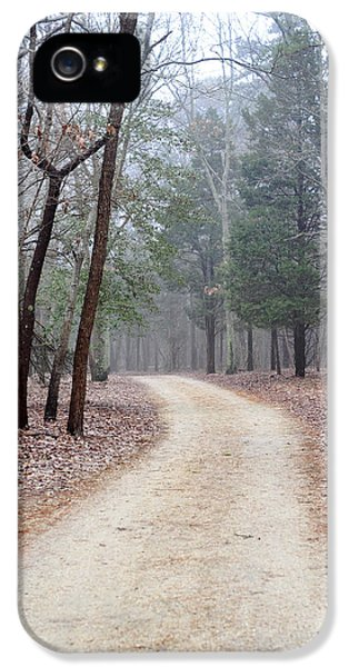 Breathe iPhone 5 Case - Along The Path by Terry DeLuco