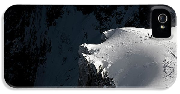 French iPhone 5 Case - Alpinists by Tristan Shu