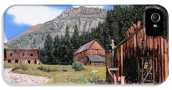 Town iPhone 5 Case - Alta In Colorado by Guido Borelli