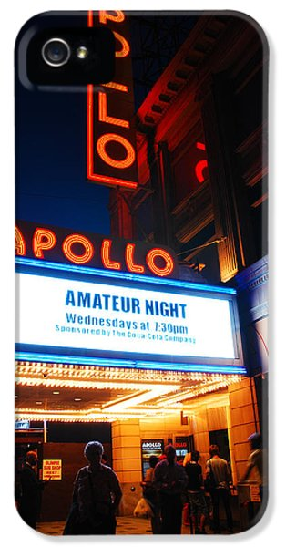 Amateur Night IPhone 5 Case by James Kirkikis