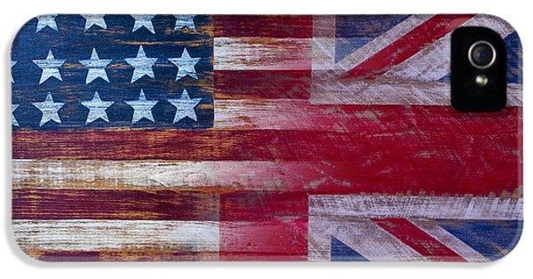 American British Flag IPhone 5 Case