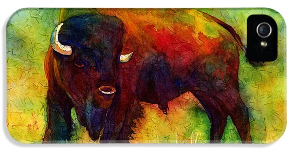 American Buffalo IPhone 5 Case by Hailey E Herrera