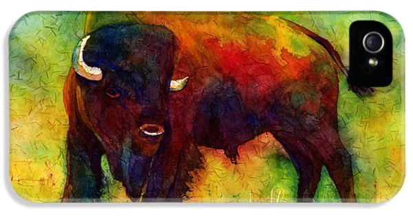 American Buffalo IPhone 5 Case by Hailey E Herrera