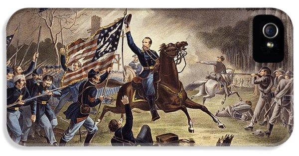 American Civil War General   Philip Kearny IPhone 5 Case by American School