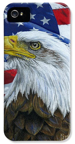 American Eagle IPhone 5 / 5s Case by Sarah Batalka