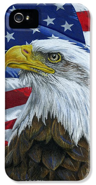 American Eagle IPhone 5 Case by Sarah Batalka