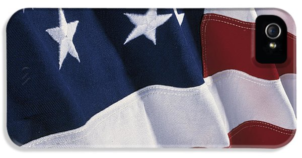 American Flag IPhone 5 Case by Panoramic Images