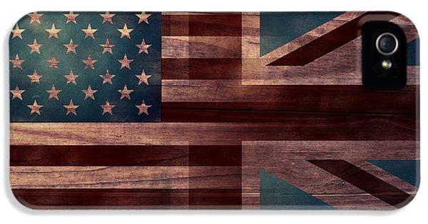 American Jack IIi IPhone 5 Case by April Moen