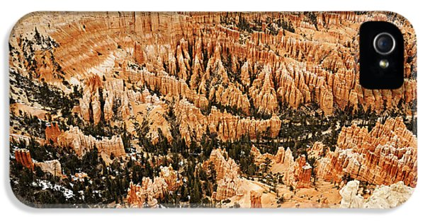 Amphitheatre At Bryce Canyon IPhone 5 Case