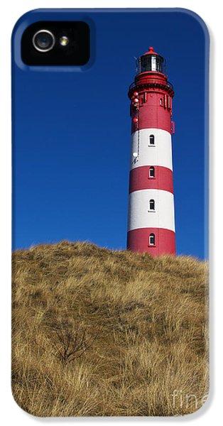 Amrum Lighthouse IPhone 5 Case by Angela Doelling AD DESIGN Photo and PhotoArt