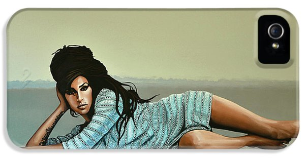 Amy Winehouse 2 IPhone 5 / 5s Case by Paul Meijering
