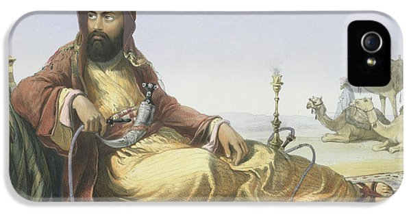 An Arab Resting In The Desert, Title IPhone 5 Case