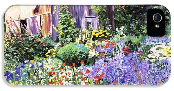 An Impressionist Garden IPhone 5 Case