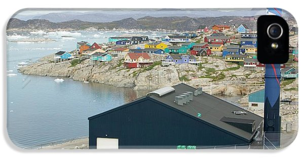 An Oil Fired Power Plant In Ilulissat IPhone 5 Case