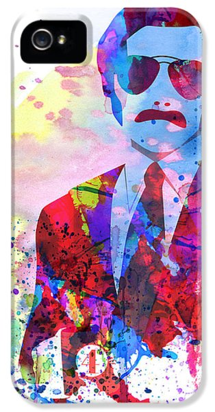 Anchorman Watercolor 2 IPhone 5 Case by Naxart Studio