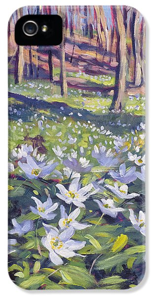 Anemones In The Meadow IPhone 5 Case