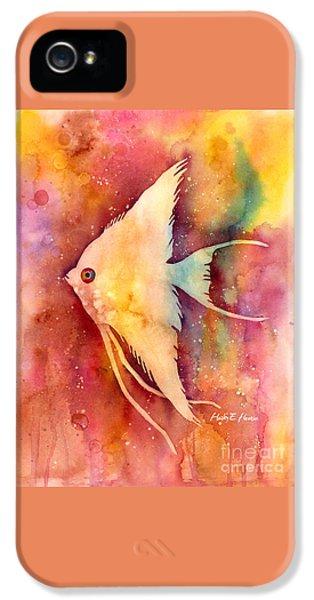 Angelfish II IPhone 5 Case by Hailey E Herrera