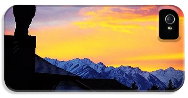 Another Awesome Bc Sunrise! #bc #canada IPhone 5 Case