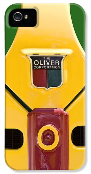 Oliver Tractor iPhone 5 Case - Antique Oliver Tractor by Tom Mc Nemar