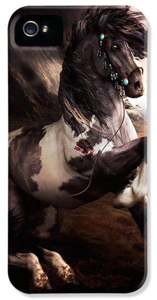Apache Blue IPhone 5 Case by Shanina Conway