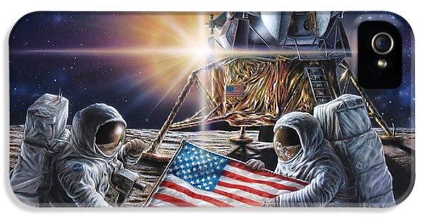 Apollo 11 IPhone 5 Case by Don Dixon