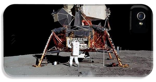 Apollo 11 Lunar Module IPhone 5 Case by Nasa/detlev Van Ravenswaay