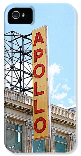 Apollo Theater Sign IPhone 5 / 5s Case by Valentino Visentini