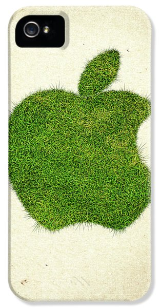 Apple Grass Logo IPhone 5 Case by Aged Pixel