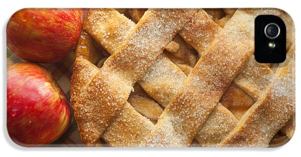 Apple Pie With Lattice Crust IPhone 5 Case