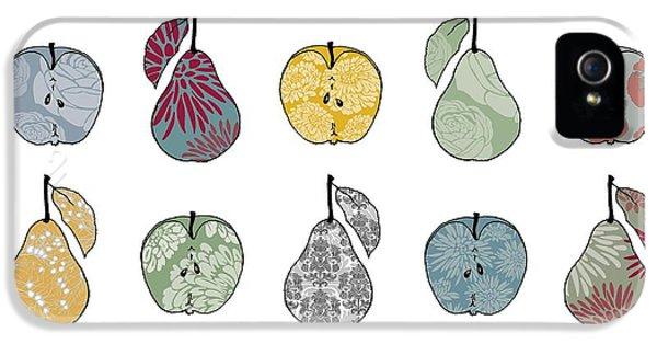 Apples And Pears IPhone 5 Case by Sarah Hough