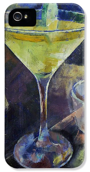 Appletini IPhone 5 Case by Michael Creese