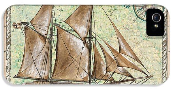 Aqua Maritime 2 IPhone 5 Case by Debbie DeWitt