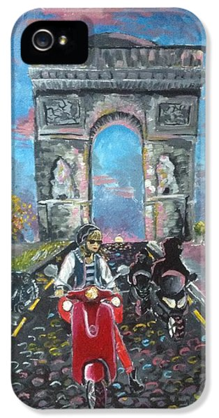 Arc De Triomphe IPhone 5 Case by Alana Meyers