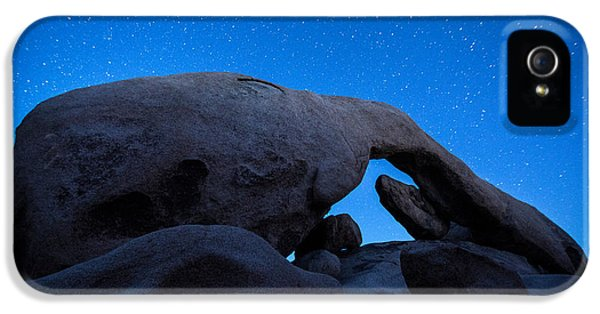 Arch Rock Starry Night 2 IPhone 5 Case by Stephen Stookey