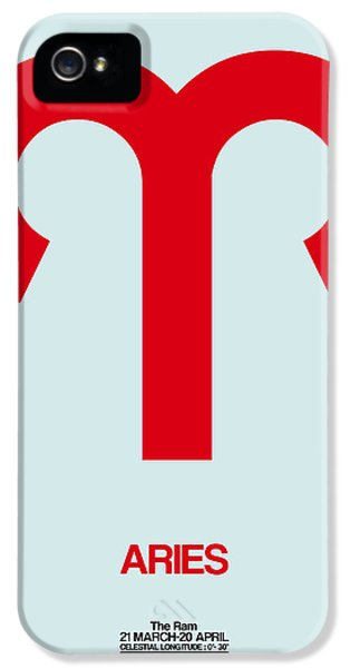 Aries Zodiac Sign Red IPhone 5 Case