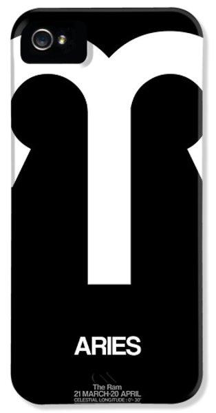Aries Zodiac Sign White IPhone 5 Case