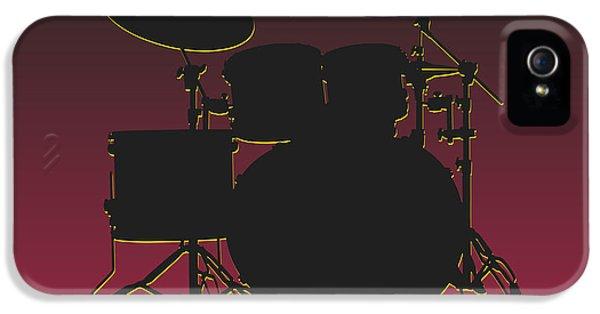 Arizona Cardinals Drum Set IPhone 5 Case by Joe Hamilton