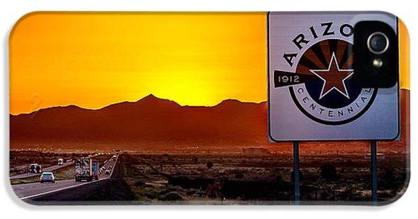 Truck iPhone 5 Case - Arizona Centennial by Az Jackson