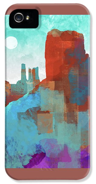 Arizona Monument IPhone 5 Case by Dan Meneely