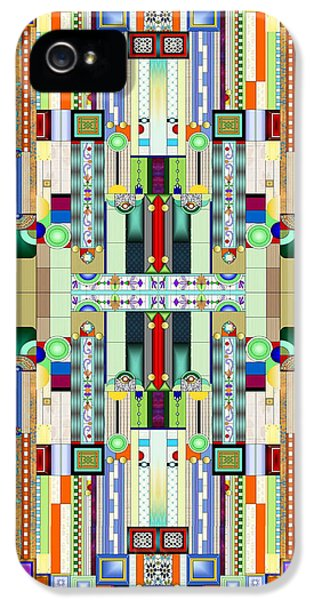 Art Deco Stained Glass 2 IPhone 5 Case